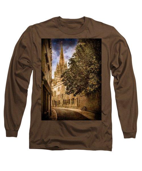 Oxford, England - Oriel Street Long Sleeve T-Shirt