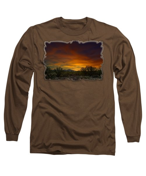 Oro Valley Sunset H02 Long Sleeve T-Shirt