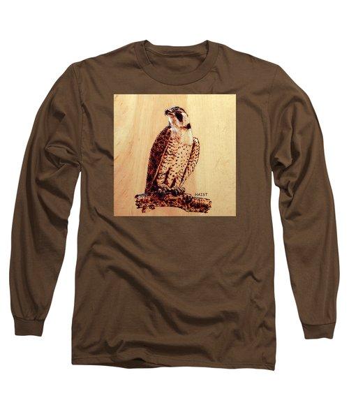 Osprey 2 Pillow/bag Long Sleeve T-Shirt by Ron Haist