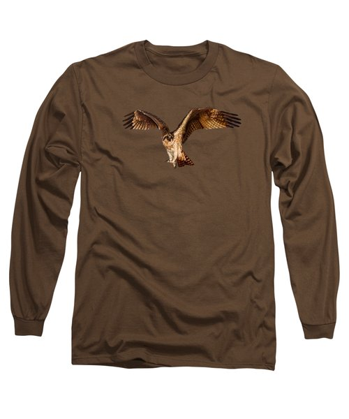 Osprey On The Branch Long Sleeve T-Shirt by Zina Stromberg