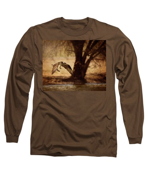 Osprey With Lunch Long Sleeve T-Shirt