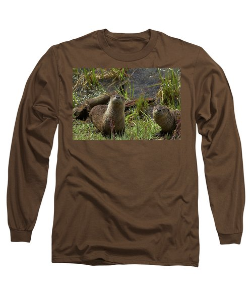 Otters Long Sleeve T-Shirt
