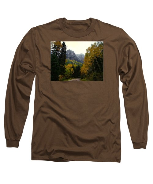Long Sleeve T-Shirt featuring the photograph Ouray Side Trip by Laura Ragland