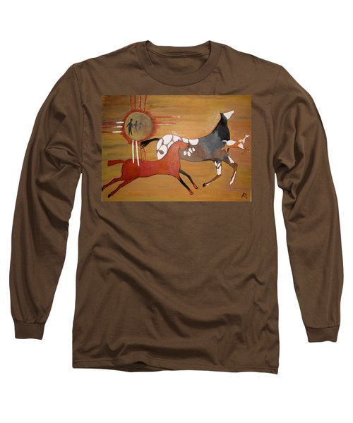 Out Of The Past Long Sleeve T-Shirt by Stephanie Moore