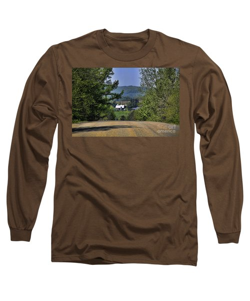 Over The Hill Long Sleeve T-Shirt by Jim Lepard