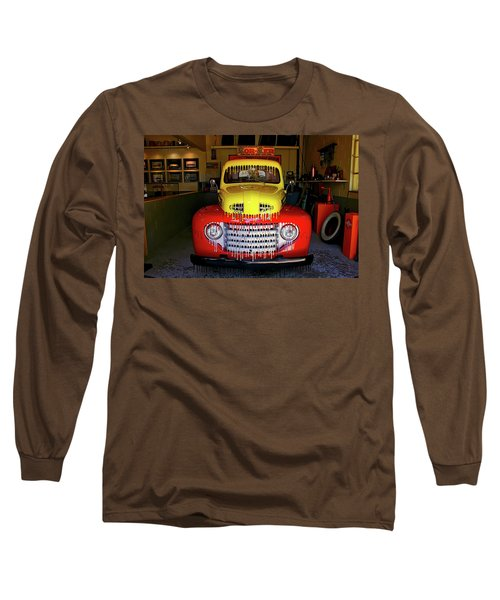 Overpainted 1950 Ford Pickup Long Sleeve T-Shirt