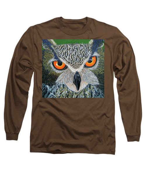 Owl Capone Long Sleeve T-Shirt
