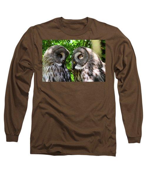 Owl Talk Long Sleeve T-Shirt