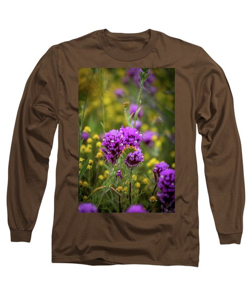 Long Sleeve T-Shirt featuring the photograph Owl's Clover by Peter Tellone