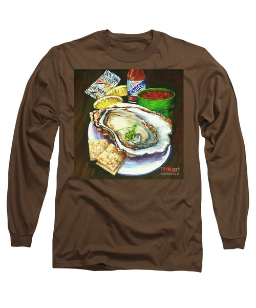 Oyster And Crystal Long Sleeve T-Shirt