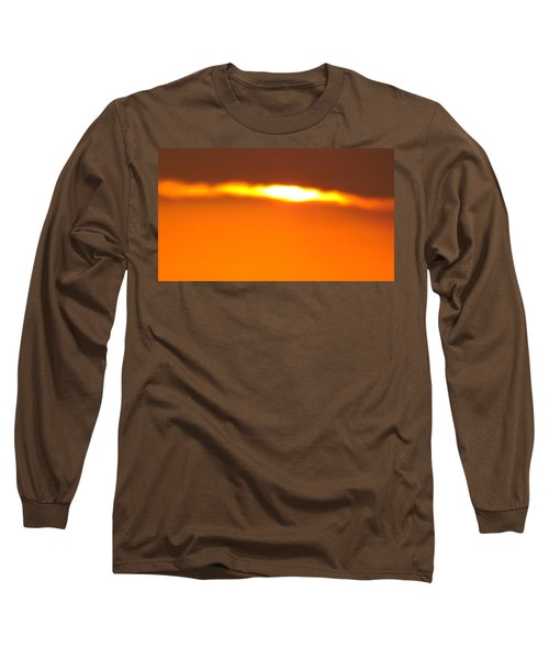 Ozark Sunset 2 Long Sleeve T-Shirt by Don Koester