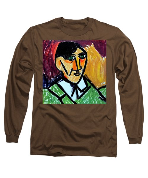 Pablo Picasso 1907 Self-portrait Remake Long Sleeve T-Shirt