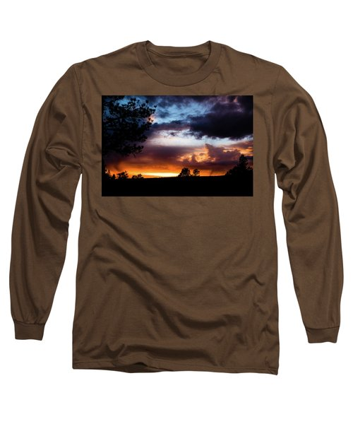 Pagosa Sunset 11-20-2014 Long Sleeve T-Shirt