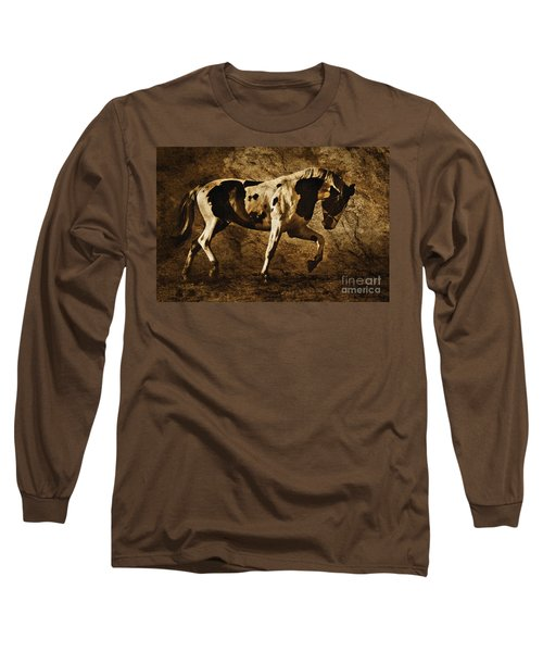 Paint Horse Long Sleeve T-Shirt