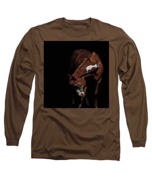 Paint In Black II Long Sleeve T-Shirt