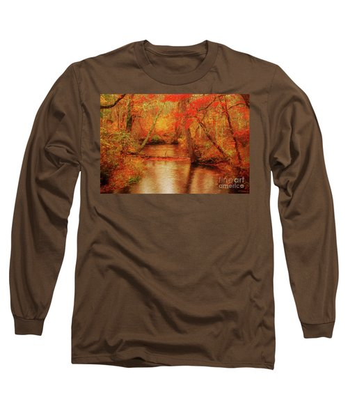 Painted Fall Long Sleeve T-Shirt
