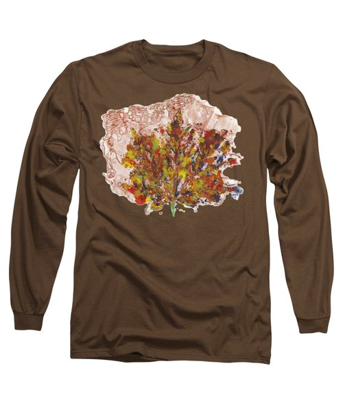 Painted Nature 3 Long Sleeve T-Shirt by Sami Tiainen