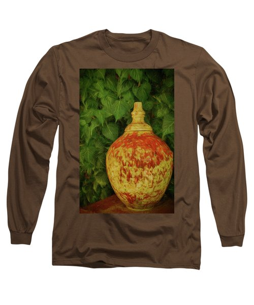 Painted Vase Long Sleeve T-Shirt