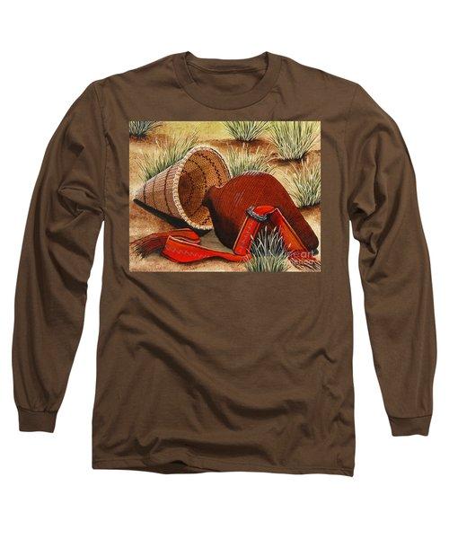 Paiute Baskets Long Sleeve T-Shirt