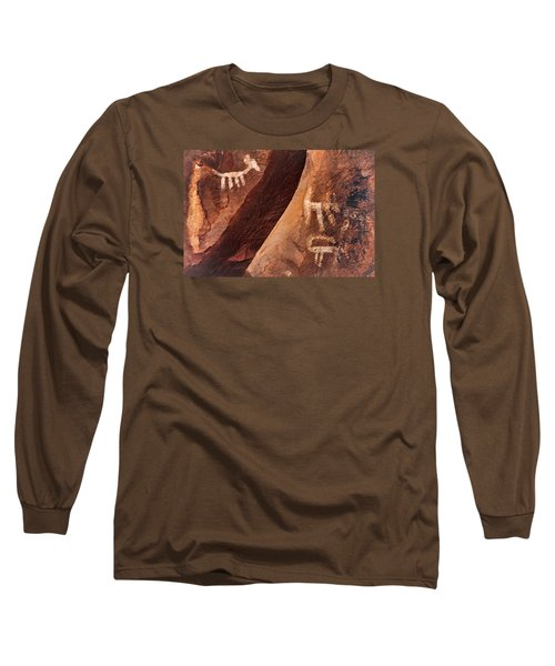 Palatki Pictographs9 Pnt Long Sleeve T-Shirt