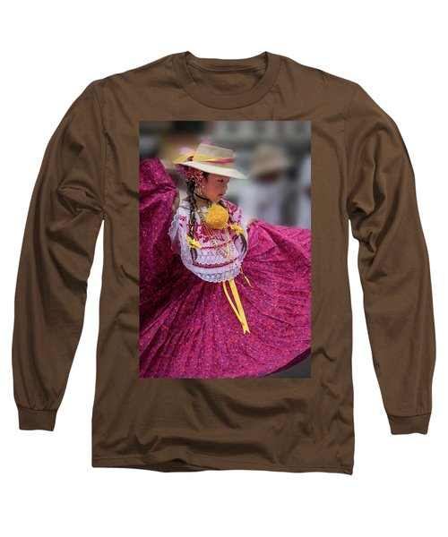 Panamanian Dancer 1 Long Sleeve T-Shirt