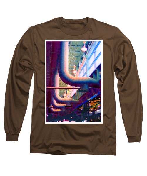 panel one from Star Factory Long Sleeve T-Shirt by Steve Karol