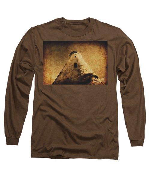Parchment Paper Lighthouse Long Sleeve T-Shirt