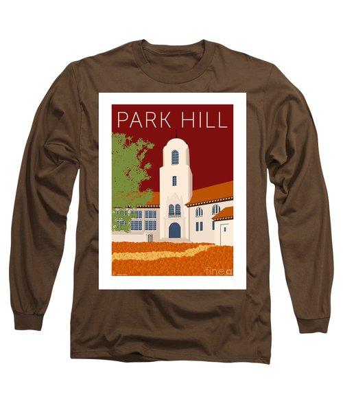 Park Hill Maroon Long Sleeve T-Shirt