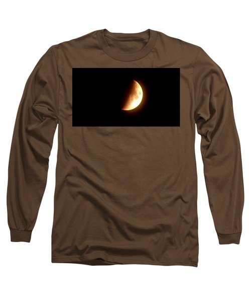 Partial Moon Long Sleeve T-Shirt