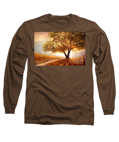 Paso Robles Golden Oak Long Sleeve T-Shirt