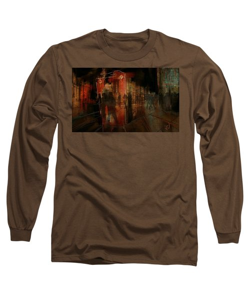 Passers In The Night Long Sleeve T-Shirt by Jim Vance