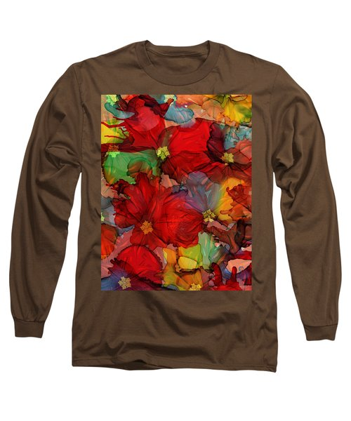Passion Of Flowers Long Sleeve T-Shirt