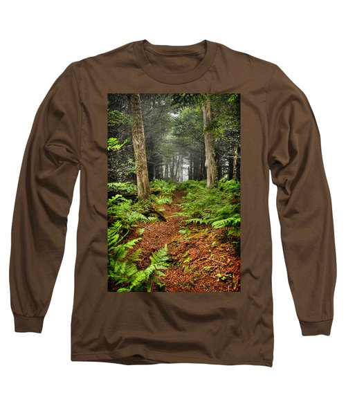 Path In The Ferns Long Sleeve T-Shirt