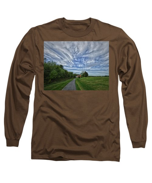 Path Long Sleeve T-Shirt by Robert Geary