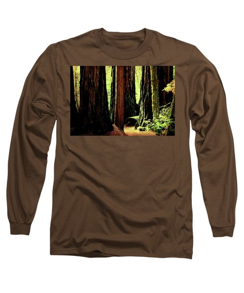 Path Through The Forest Edge . 7d5432 Long Sleeve T-Shirt