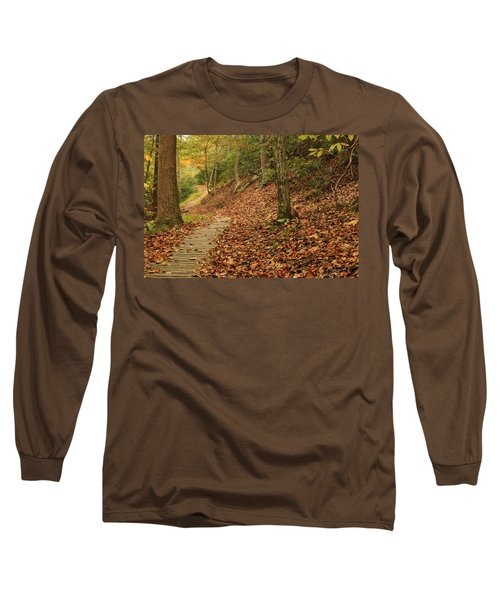 Path To Autumn Long Sleeve T-Shirt