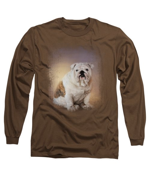 Patient Young Bulldog Long Sleeve T-Shirt
