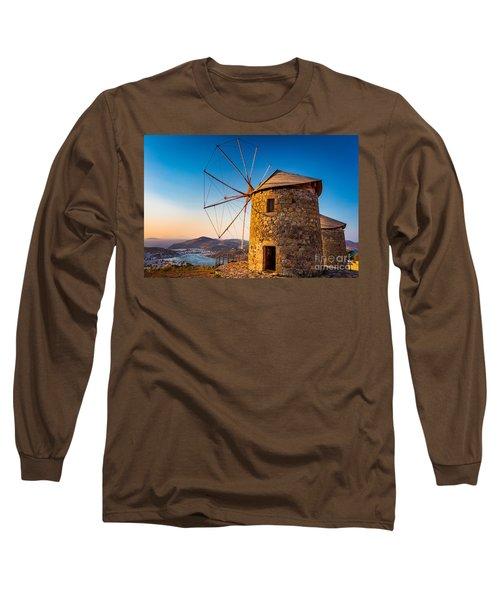 Patmos Windmills Long Sleeve T-Shirt