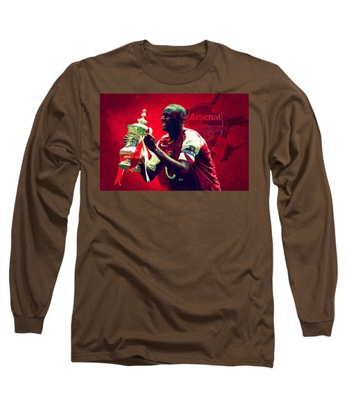 Patrick Vieira Long Sleeve T-Shirt by Semih Yurdabak
