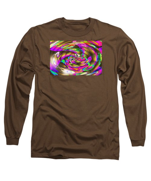 Pattern 269 _ Wired Long Sleeve T-Shirt