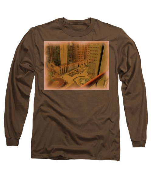 Patterns In Architecture Long Sleeve T-Shirt