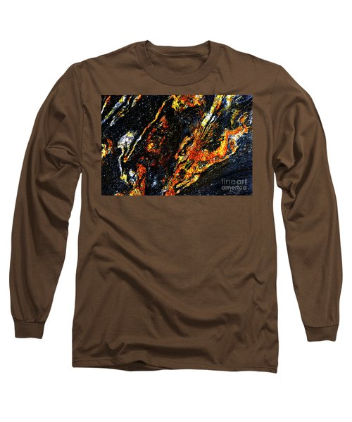 Long Sleeve T-Shirt featuring the photograph Patterns In Stone - 188 by Paul W Faust - Impressions of Light