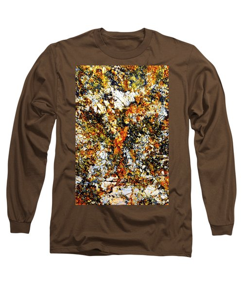 Long Sleeve T-Shirt featuring the photograph Patterns In Stone - 207 by Paul W Faust - Impressions of Light