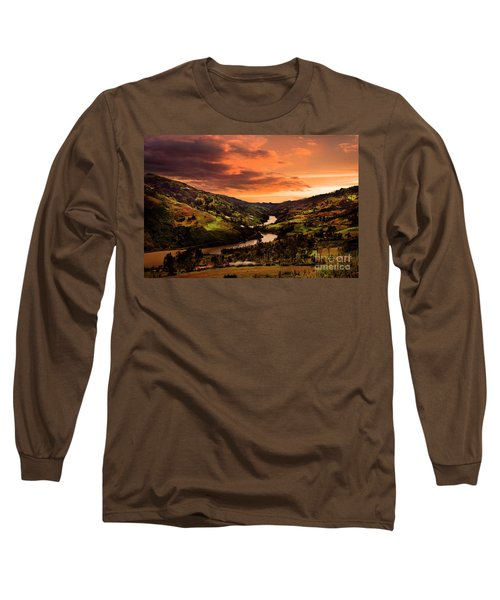 Paute River II Long Sleeve T-Shirt