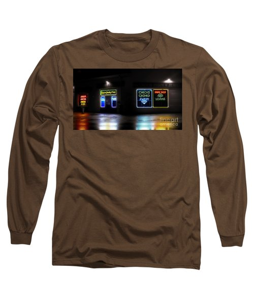 Pawn Long Sleeve T-Shirt by Raymond Earley