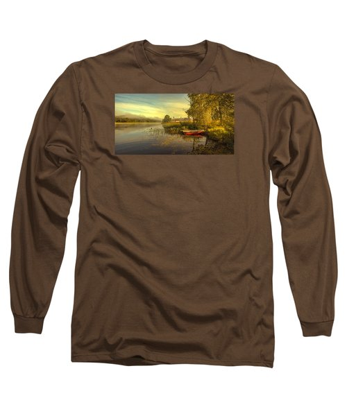 Long Sleeve T-Shirt featuring the photograph Peaceful Morning by Rose-Maries Pictures
