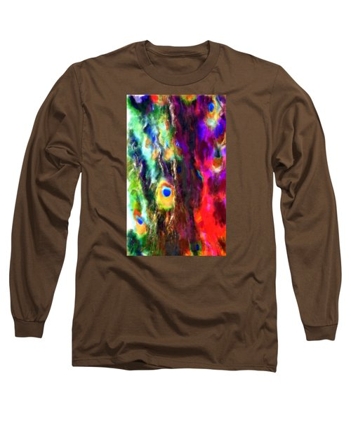 Peacock No. 1 Long Sleeve T-Shirt