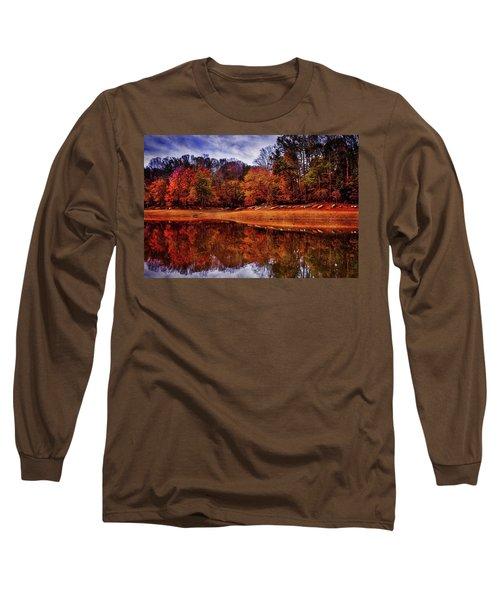 Peak? Nope, Not Yet Long Sleeve T-Shirt by Edward Kreis