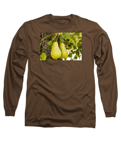 Pears 2 Of A Kind Long Sleeve T-Shirt