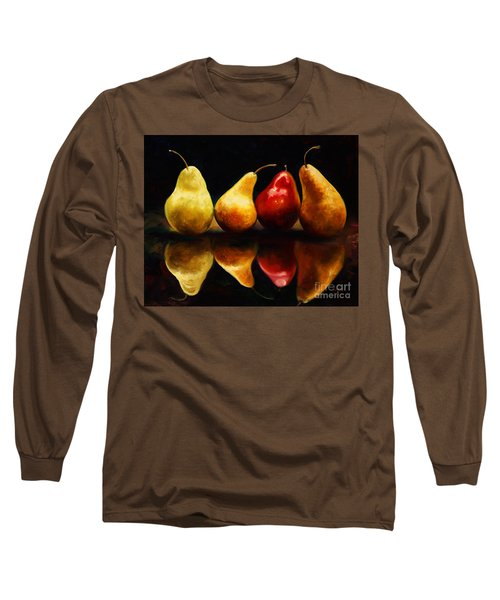 Pearsfect Long Sleeve T-Shirt by Laurie Hein